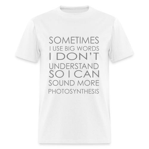 Big Words - Men's T-Shirt