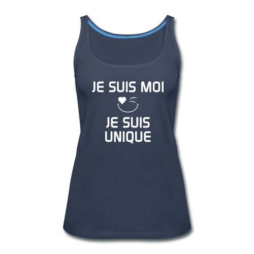 Je Suis Moi - Je suis Unique - Women's Premium Tank Top