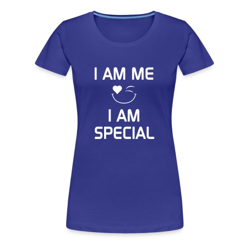 I AM ME - I AM SPECIAL %100 Cotton - Women's Premium T-Shirt