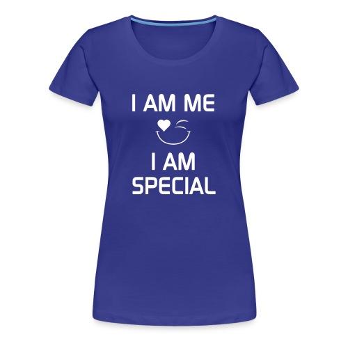 I AM ME - I AM SPECIAL %100 Cotton - Women's Premium T-Shirt