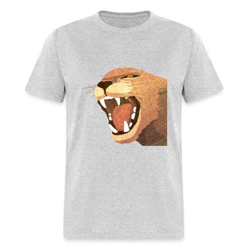 VIntage Powered Album Cat - Men's T-Shirt