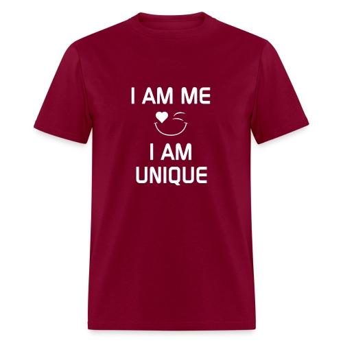 I AM ME - I AM UNIQUE  %100 Cotton - Men's T-Shirt