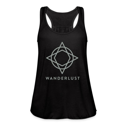 Wanderlust Tank - Womens Black - Women's Flowy Tank Top by Bella