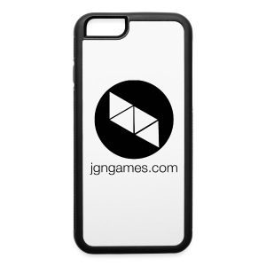 iPhone 6/6S Case w/ Black Logo - iPhone 6/6s Rubber Case