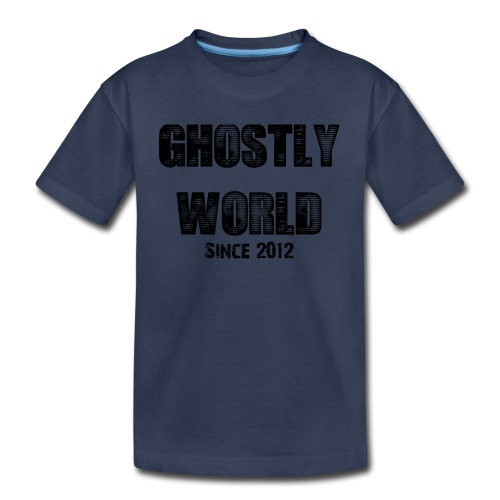 Ghostly World Logo Kid's T-Shirt - Kids' Premium T-Shirt