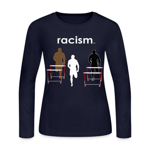 Racism Women's Long Sleeve Jersey Tee - Women's Long Sleeve Jersey T-Shirt