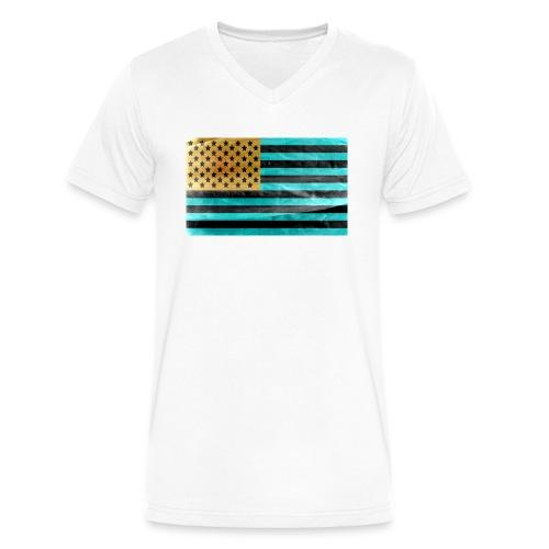 Invert - Men's V-Neck T-Shirt by Canvas