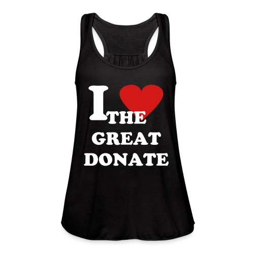 I love The Great Donate Singlet - Women's Flowy Tank Top by Bella