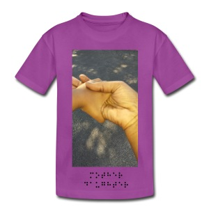 Mother and Daughters Grasp Brail Tee - Kids' Premium T-Shirt