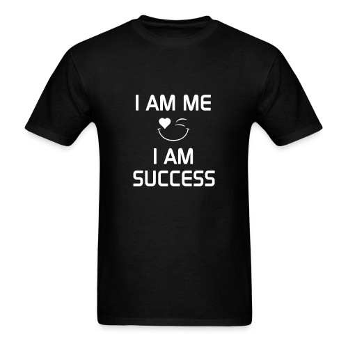 I AM SUCCESS  %100Cotton - Men's T-Shirt