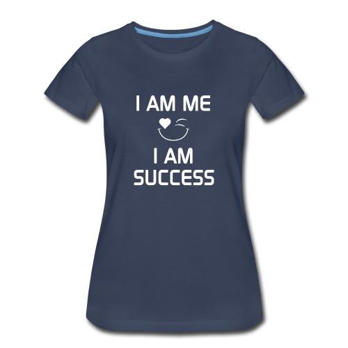 I AM SUCCESS  %100Cotton - Women's Premium T-Shirt