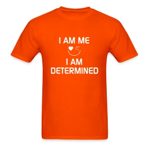 I AM DETERMINED   %100Cotton - Men's T-Shirt