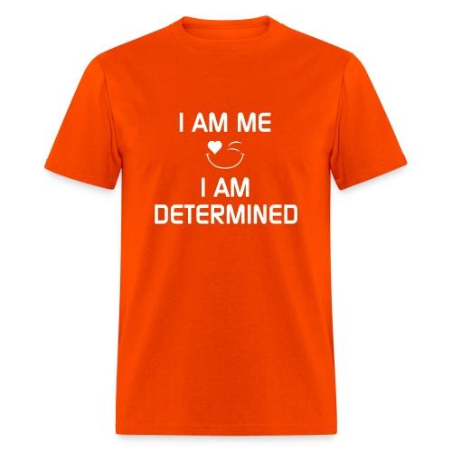 I AM DETERMINED   %100Cotton - Men's T-Shirt