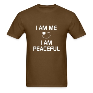 I AM PEACEFUL   %100Cotton - Men's T-Shirt