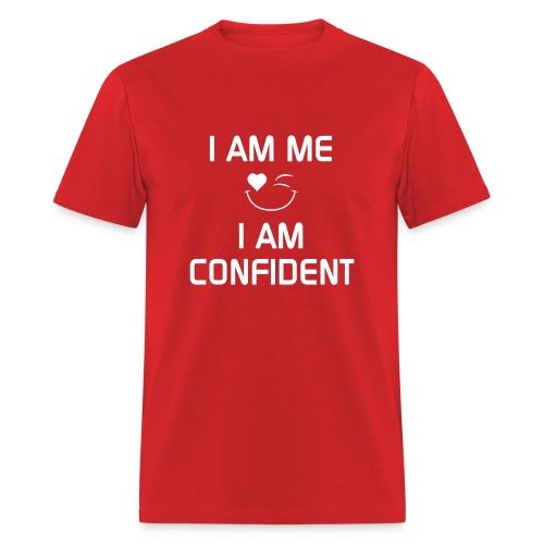 I AM CONFIDENT   %100Cotton - Men's T-Shirt