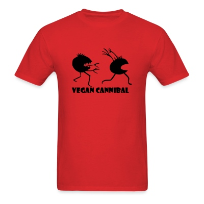 Vegan Cannibal shirt - Men's T-Shirt