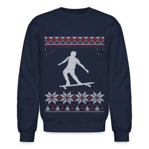 Longboard Holiday/Christmas Sweatshirt - Crewneck Sweatshirt