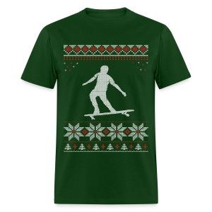 Longboard Holiday/Christmas Shirt - Men's T-Shirt