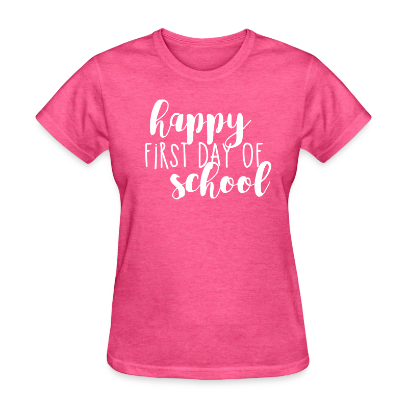 Happy First Day of School T-Shirt | Teacher T-Shirts