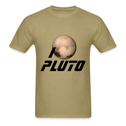 I Heart Pluto - Men's T-Shirt