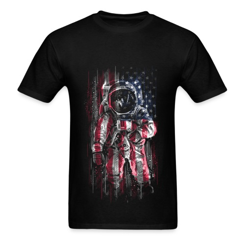 Astronaut USA - Men's T-Shirt