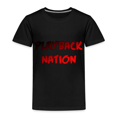 Playback Toddler Unisex T-Shirt - Toddler Premium T-Shirt