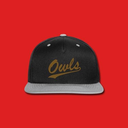 Nightowl Hat - Snap-back Baseball Cap