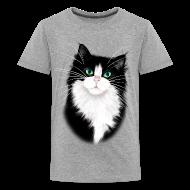 Kids' Shirts ~ Kids' Premium T-Shirt ~ TUX-Tuxedo cats rock