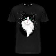 T-Shirts ~ Men's Premium T-Shirt ~ TUX-Tuxedo cats rock