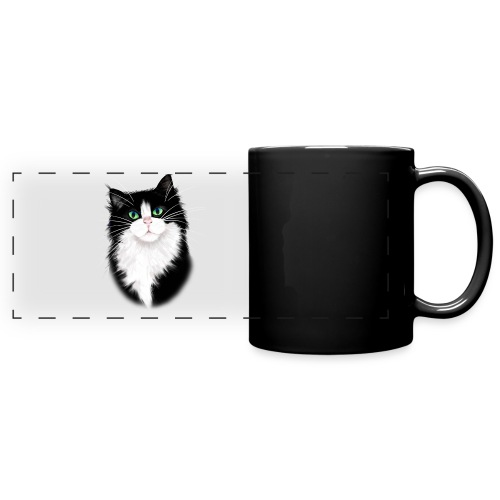 TUX-Tuxedo cats rock - Full Color Panoramic Mug