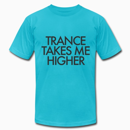 Trance Takes Me Higher - Gentlemen - Men's Fine Jersey T-Shirt