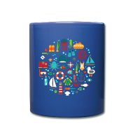 Mugs & Drinkware ~ Full Color Mug ~ Marine Dive Life