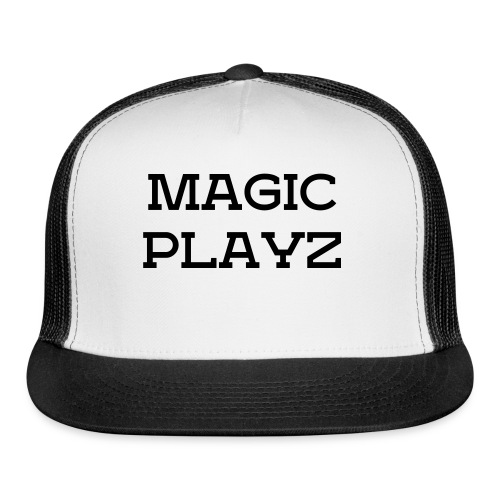 MagicPlayz SIMPLE Hat (Fits Almost Everyone) - Trucker Cap
