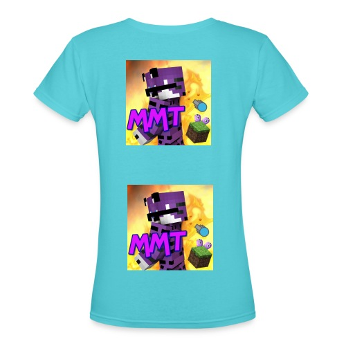 MagicSimple T-Shirt FOR (WOMAN) - Women's V-Neck T-Shirt