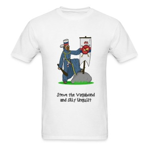 Steve the Vagabond and silly linguist - Men's T-Shirt