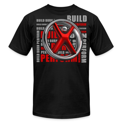 Men's Build, Burn, Perform - Men's Fine Jersey T-Shirt