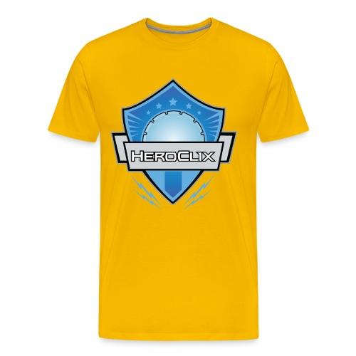 HeroClix Shield Blue - Men's Premium T-Shirt