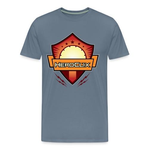HeroClix Shield Red - Men's Premium T-Shirt