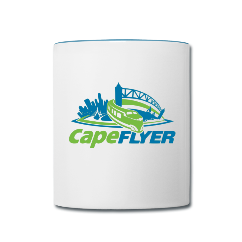 CapeFLYER Contrast Coffee Mug - Contrast Coffee Mug