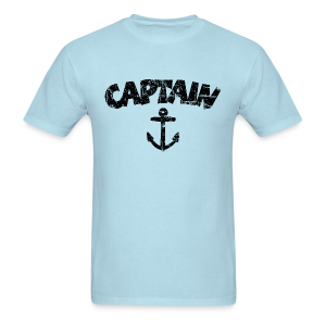 Captain Anchor T-Shirt (Vintage/Black) - Men's T-Shirt