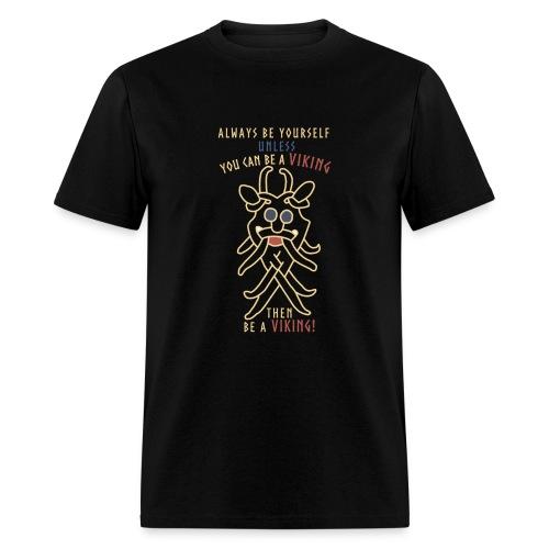 Big Odins mask in yellow - Men's T-Shirt