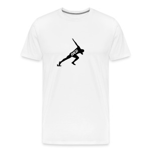 The Original DAB BAGS Shirt White - Men's Premium T-Shirt