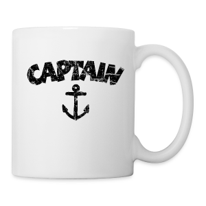Captain Anchor Mug (Vintage/Black) - Coffee/Tea Mug