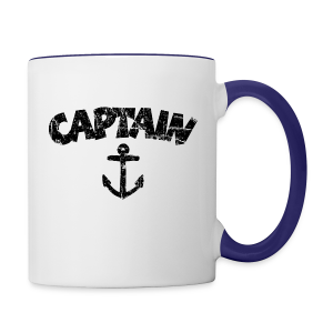 Captain Anchor Mug (Vintage/Black) - Contrast Coffee Mug