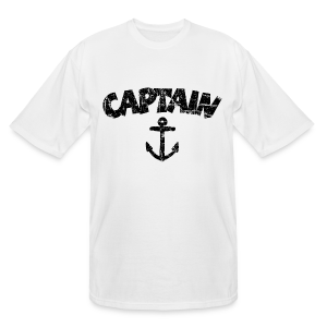 Captain Anchor Tall T-Shirt (Vintage/Black) - Men's Tall T-Shirt