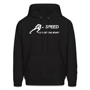 BAGS Speed Hoodie Black - Men's Hoodie