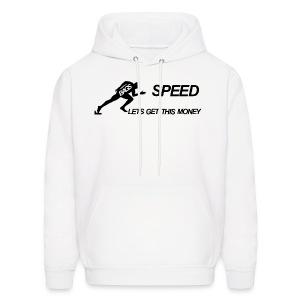 BAGS Speed Hoodie White - Men's Hoodie