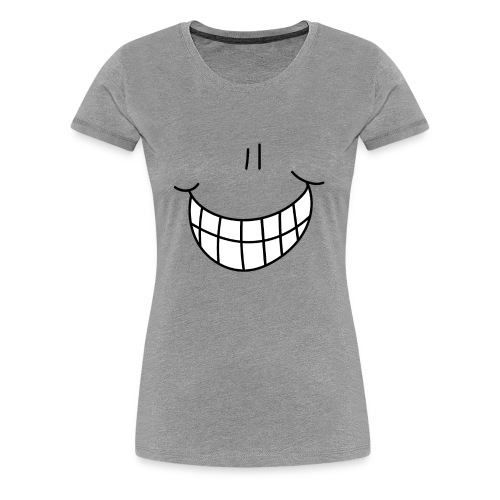 Cheesy Grin T-shirts - Women's Premium T-Shirt