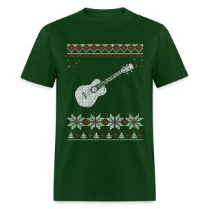 Ukulele Christmas / Holiday T-shirt - Men's T-Shirt