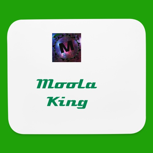 Moola King White Mousepad - Mouse pad Horizontal
